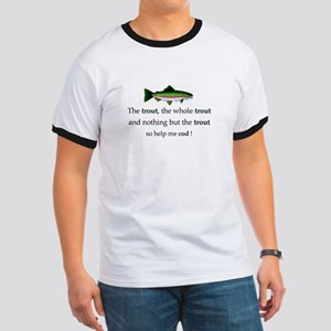 Trout Fishing Ringer T