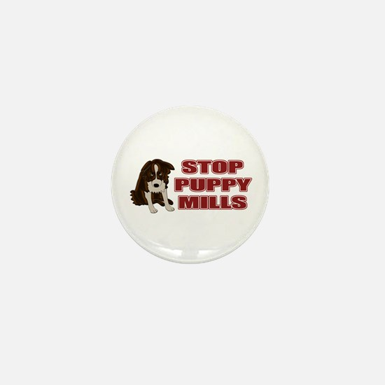 Stop Puppy Mills Mini Button