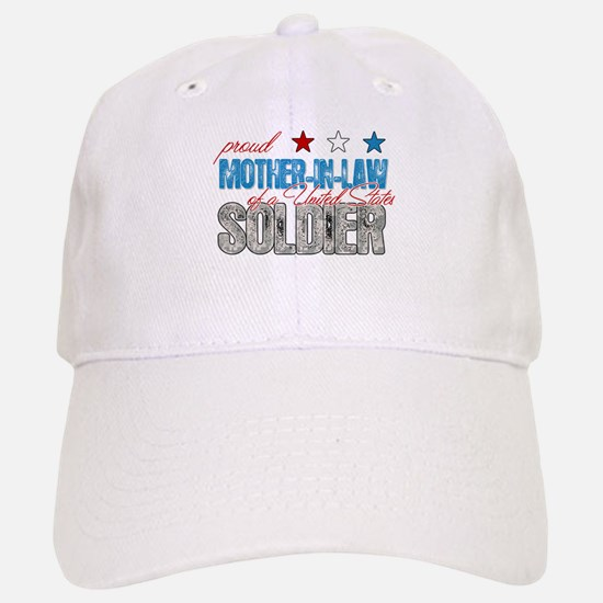 Proud Mother-In-Law of a Sold Baseball Baseball Cap