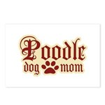 Poodle Mom Postcards (Package of 8)