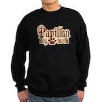 Papillon Mom Sweatshirt (dark)
