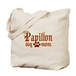 Papillon Mom Tote Bag