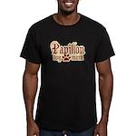 Papillon Mom Men's Fitted T-Shirt (dark)