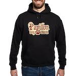 Papillon Mom Hoodie (dark)