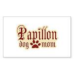 Papillon Mom Sticker (Rectangle 10 pk)