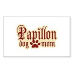 Papillon Mom Sticker (Rectangle 50 pk)