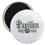 Papillon Dad Magnet