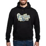 Papillon Dad Hoodie (dark)