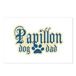 Papillon Dad Postcards (Package of 8)
