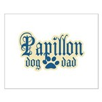 Papillon Dad Small Poster