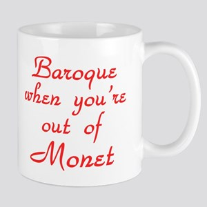 Baroque-Monet-Red Mug