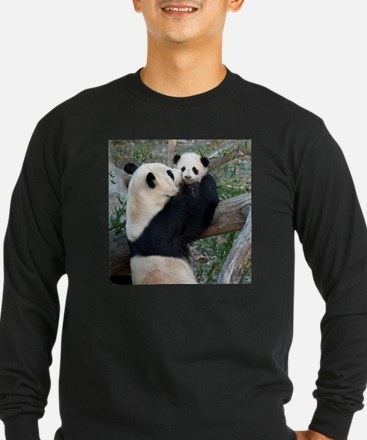 Mom & Baby Giant Pandas T