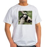 Mom & Baby Giant Pandas Light T-Shirt