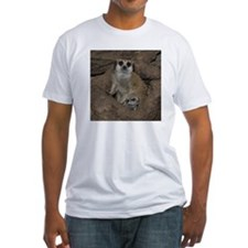 Meerkats Fitted T-Shirt