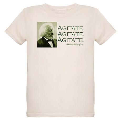 "Frederick Douglass ""Agitate!"" Organic Kids T-Shirt"