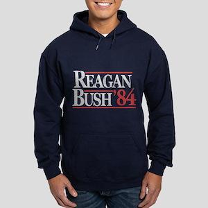 Reagan Bush '84 Hoodie (dark)