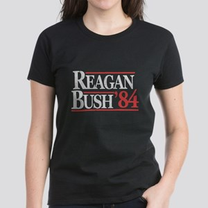 Reagan Bush '84 Women's Dark T-Shirt