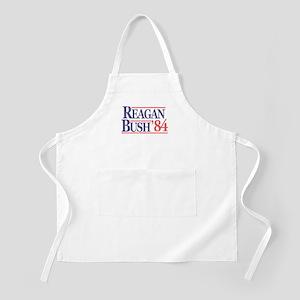 Reagan Bush '84 BBQ Apron