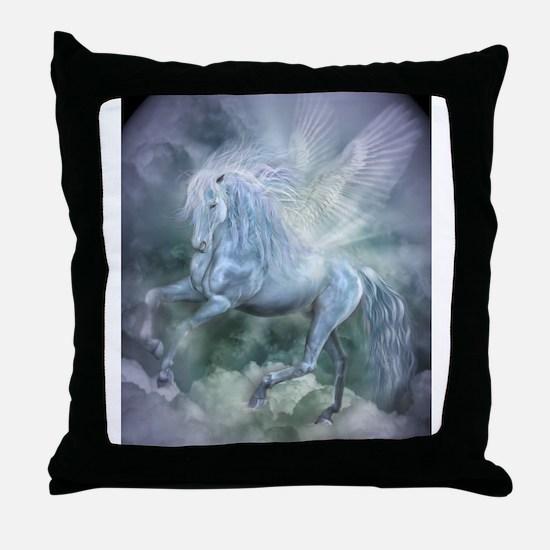 Cute Fairies art Throw Pillow