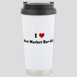 I Love New Market Bar-B-Q Stainless Steel Travel M