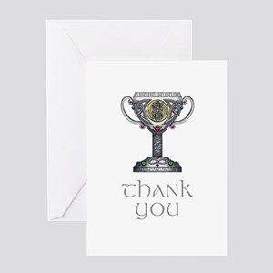 Celtic Thank You Greeting Card