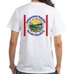 Montana-5 White T-Shirt