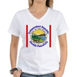 Montana-5 Women's V-Neck T-Shirt