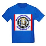 Wyoming-5 Kids Dark T-Shirt