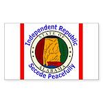 Alabama-5 Rectangle Sticker 50 pk)
