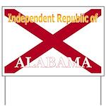 Alabama-4 Yard Sign