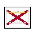 Alabama-4 Framed Panel Print