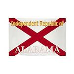 Alabama-4 Rectangle Magnet (10 pack)