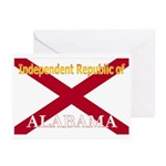 Alabama-4 Greeting Cards (Pk of 20)