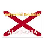 Alabama-4 Postcards (Package of 8)