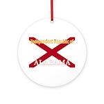 Alabama-4 Ornament (Round)