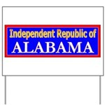 Alabama-2 Yard Sign