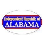 Alabama-2 Oval Sticker