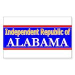 Alabama-2 Rectangle Sticker 10 pk)