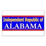 Alabama-2 Rectangle Sticker