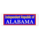 Alabama-2 Bumper Sticker