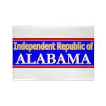 Alabama-2 Rectangle Magnet