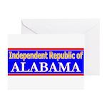 Alabama-2 Greeting Cards (Pk of 20)