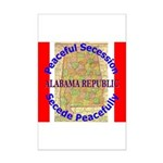 Alabama-1 Mini Poster Print
