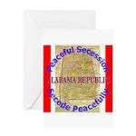 Alabama-1 Greeting Card