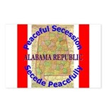 Alabama-1 Postcards (Package of 8)