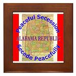 Alabama-1 Framed Tile