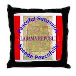 Alabama-1 Throw Pillow