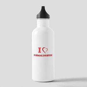I love Formaldehyde Stainless Water Bottle 1.0L