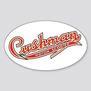 Cushman Oval Sticker