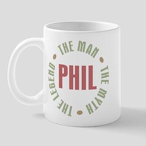 Phil the Man Myth Legend Mug